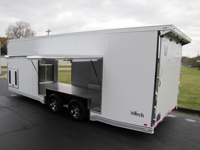 2019 Intech Trailers Custom 24' Bumper Pull w/ Escape Door
