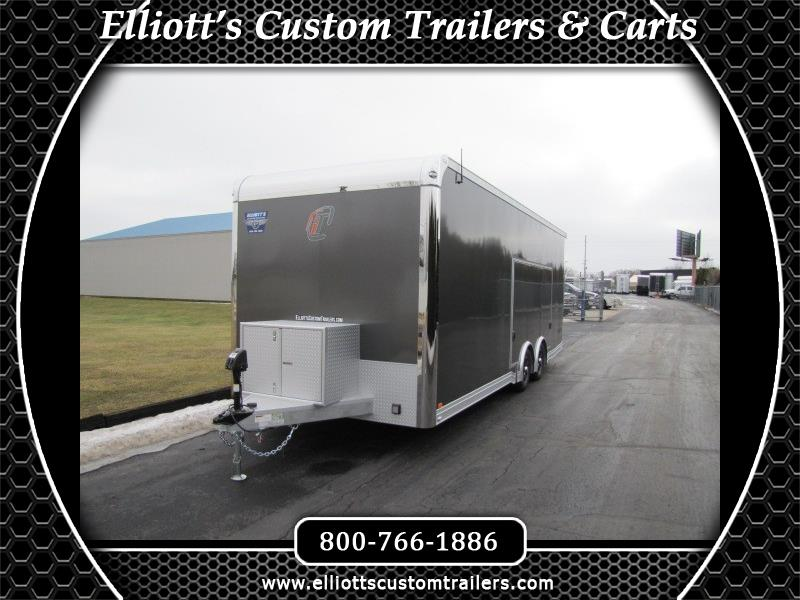 2019 Intech Trailers Custom 24' iCon with Escape Door