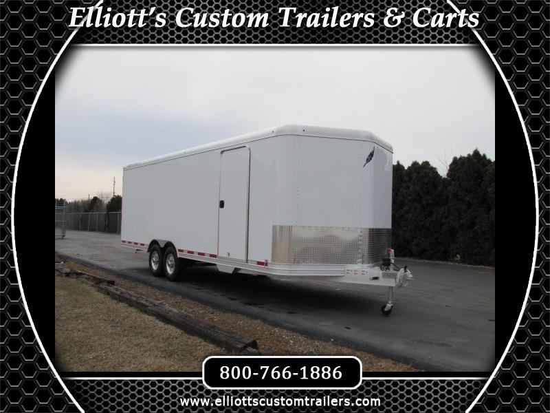 2019 Featherlite Trailers 4926 24' Enclosed Car Trailer with Escape Door