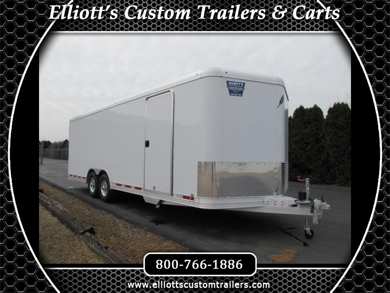 2019 Featherlite Trailers 4926 24' Enclosed Car Trailer