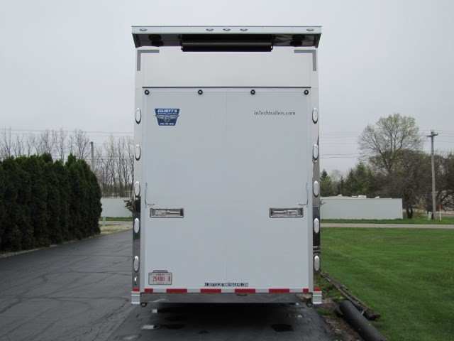 2019 Intech Trailers Icon 44' Sprint Car Trailer