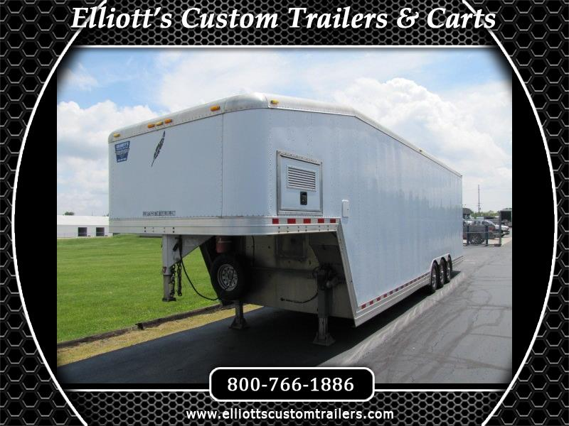 2019 Featherlite Trailers 4940 Gooseneck Dirt Modified Trailer