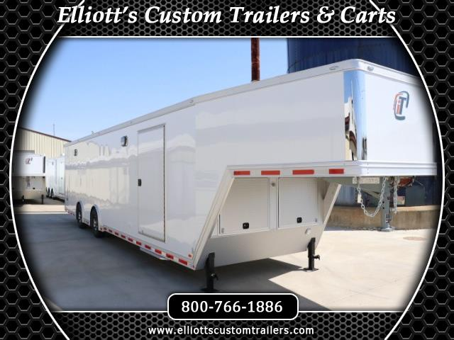 2019 Intech Trailers Icon 40' iCon - All Aluminum Gooseneck Race Trailer