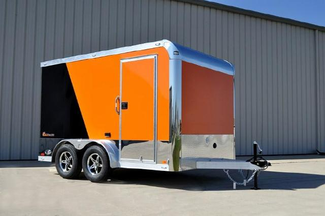 2018 Intech Trailers Custom 7'x12' Custom Aluminum Motorcycle Trailer