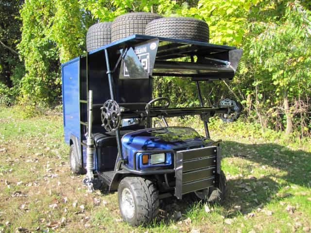 2018 EZ-GO Custom Pit Cart BUILT ON EZ-GO TERRAIN 1000 CHASSIS