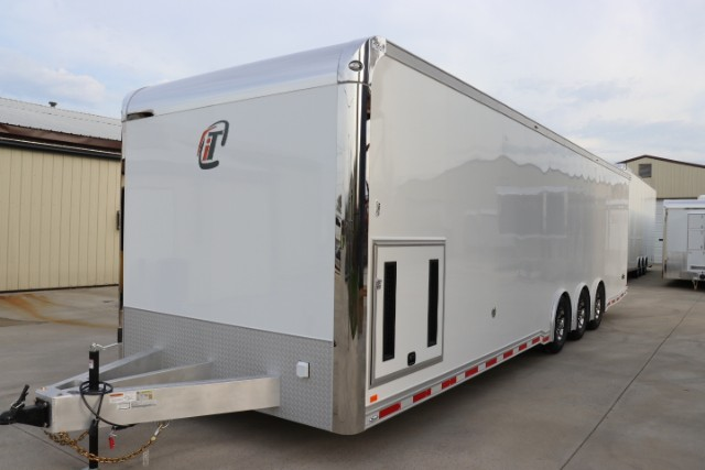 2019 Intech Trailers Icon 32' Aluminum Race Trailer/Car Hauler