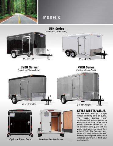 2018 United Trailers ULT 6x SINGLE AXLE TAG EXPRESS