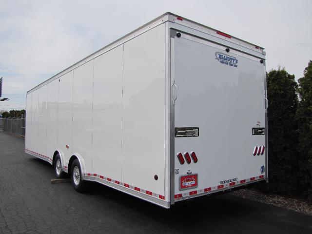 2019 United-Trailers Super Hauler 32ft WIDE BODY TANDEM AXLE RACE OR CAR HAULER