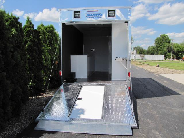 2018 United Trailers Concession 16ft Vending Tag Trailer