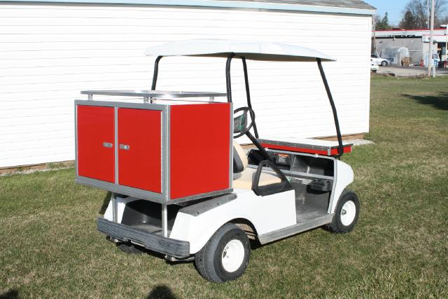 2019 EZ-GO Golf Cart CUSTOM SHORT BOX NO DRAWERS ADD ON