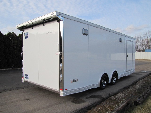 2019 Intech Trailers Icon 24' InTech iCon - All Aluminum Enclosed Car Hauler