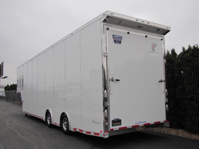 2019 Intech Trailers Gooseneck 40ft Icon Package Race Ready trailer