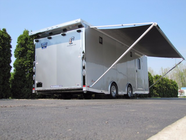 2019 Intech Trailers Icon 24' Custom iCon Car Hauler with Escape Door