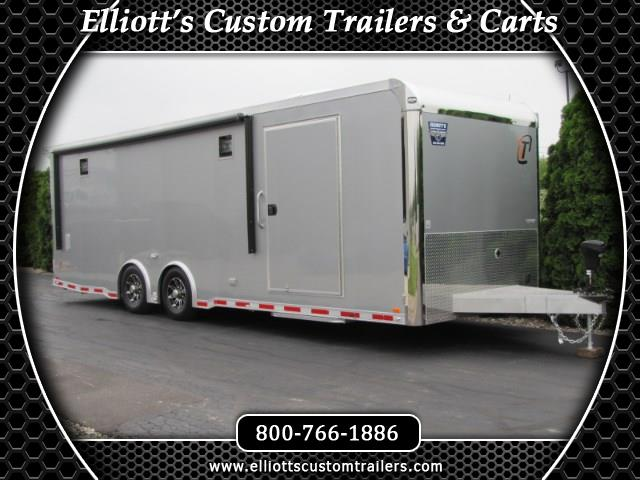 2019 Intech Trailers Custom 26' Car Hauler with Full Access Escape Door