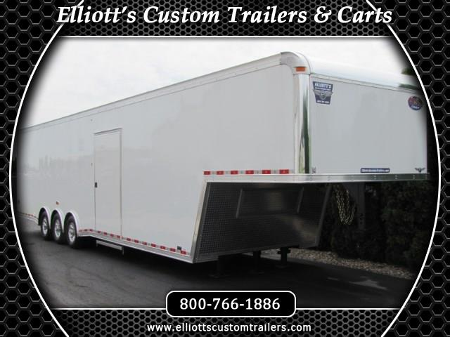 2019 United Trailers Gooseneck 40 Ft With 1 Ft Extra Height