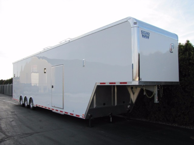 2018 Intech Trailers Gooseneck 44' Gooseneck - Wing Sprint Car Trailer