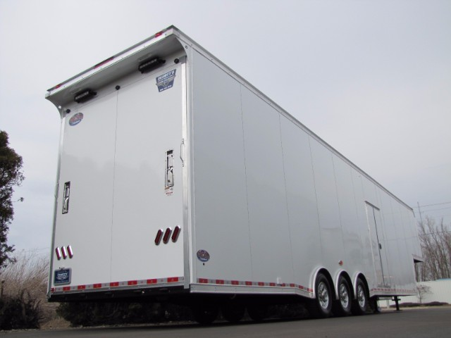 2019 United Trailers Gooseneck 44ft Super Hauler Race Ready Trailer