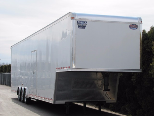 2018 United Trailers Gooseneck 44ft Super Hauler Race Ready Trailer