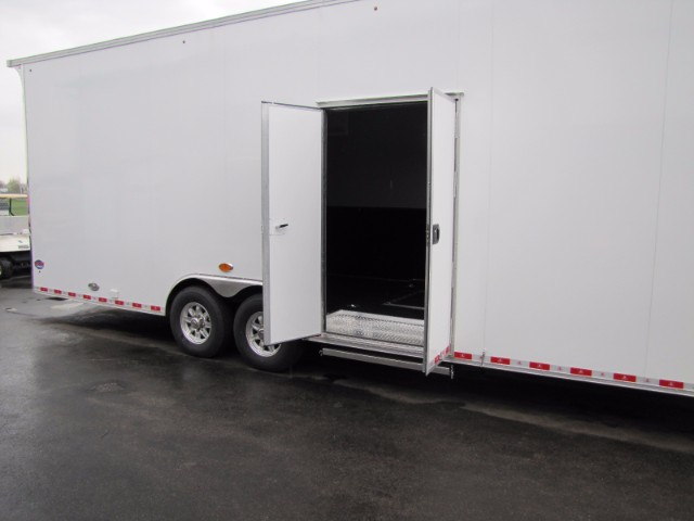 2019 United-Trailers UXT 28ft  9ft Interior Height Race Trailer