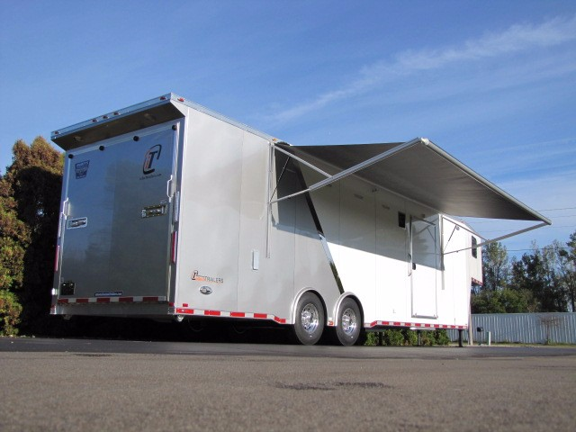 2018 Intech Trailers Gooseneck 38' Gooseneck with Tapered Nose