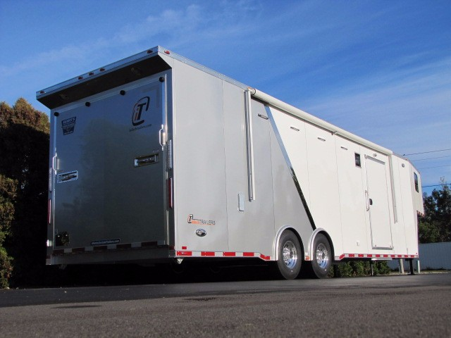 2019 Intech Trailers Gooseneck 38' Gooseneck with Tapered Nose