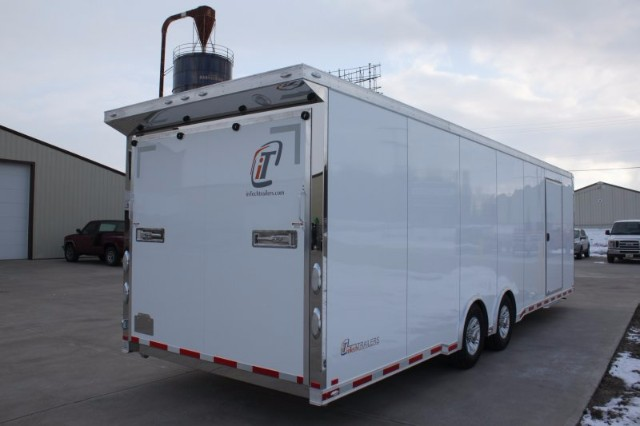 2018 Intech Trailers Icon 28' Race Trailer - Aluminum Car Hauler