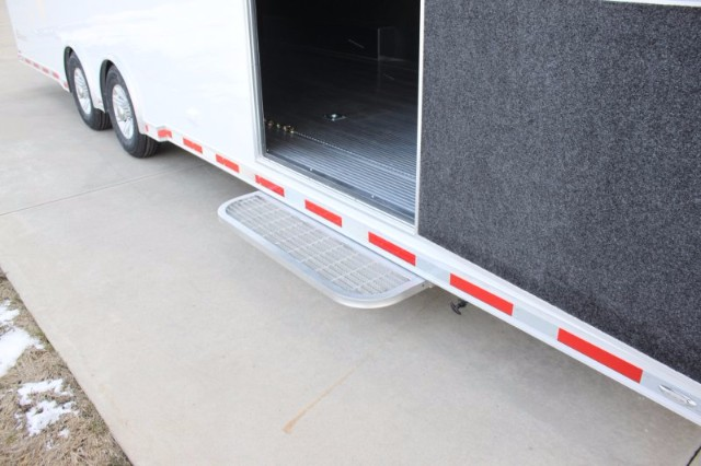 2019 Intech Trailers Icon 28' Race Trailer - Aluminum Car Hauler