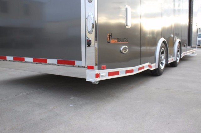 2019 Intech Trailers Gooseneck 40' All Alum Race Trailer  BUILD TO ORDER