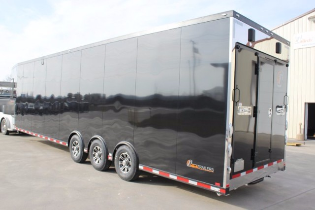2018 Intech Trailers Gooseneck 42' All Alum Race Trailer BUILD TO ORDER