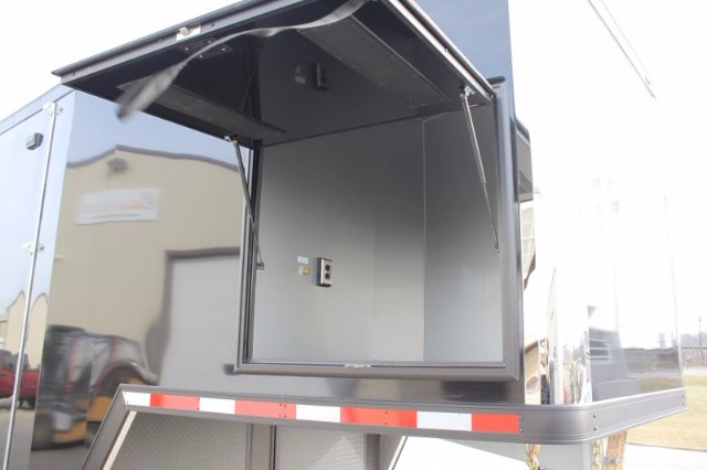 2019 Intech Trailers Gooseneck 42' All Alum Race Trailer BUILD TO ORDER