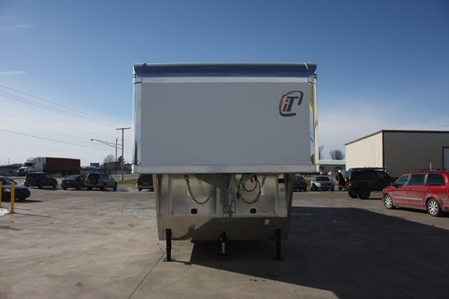 2018 Intech Trailers Gooseneck 48' Race Trailer w/Bathroom Pkg. BUILD TO ORDER