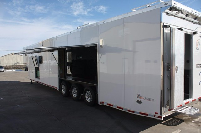 2019 Intech Trailers Gooseneck 48' Race Trailer w/Bathroom Pkg. BUILD TO ORDER