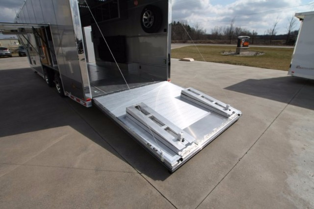 2018 Intech Trailers Gooseneck 38' All Alum Race Trailer BUILD TO ORDER