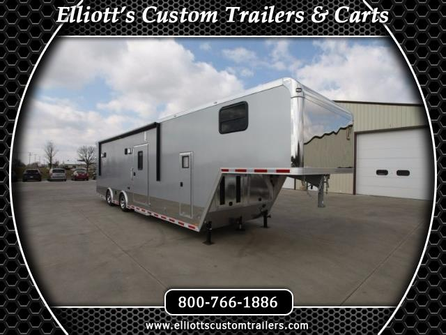 2019 Intech Trailers Gooseneck 38' All Alum Race Trailer BUILD TO ORDER