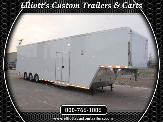 2019 Intech Trailers Gooseneck 44' Custom Trailer BUILD TO ORDER
