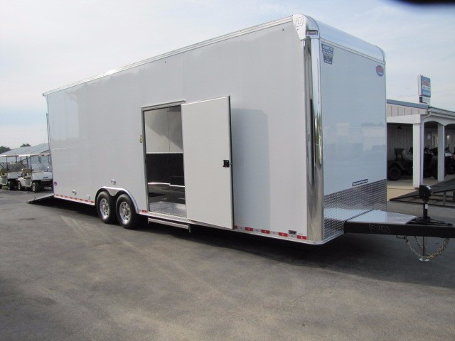 2018 United-Trailers UXT 28' United 8.5 Wide Flat Top Tandem Axle Tag