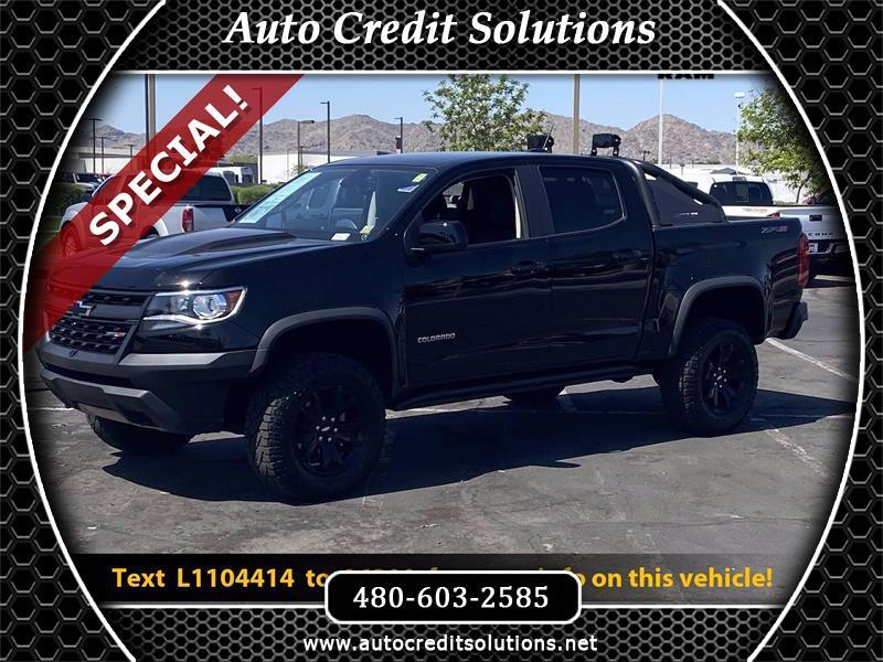 Chevrolet Colorado ZR2 Crew Cab 4WD Short Box 2020
