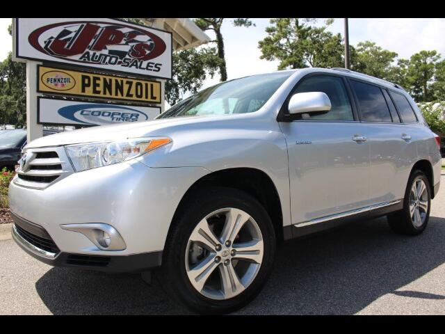 used 2013 toyota highlander limited v6 4wd for sale in pawleys island sc 29585 jp 39 s auto sales. Black Bedroom Furniture Sets. Home Design Ideas