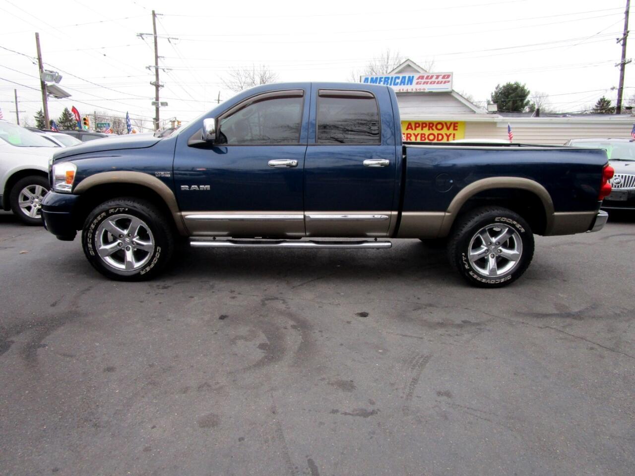 """2008 Dodge Ram 1500 4WD Quad Cab 140.5"""" Laramie"""