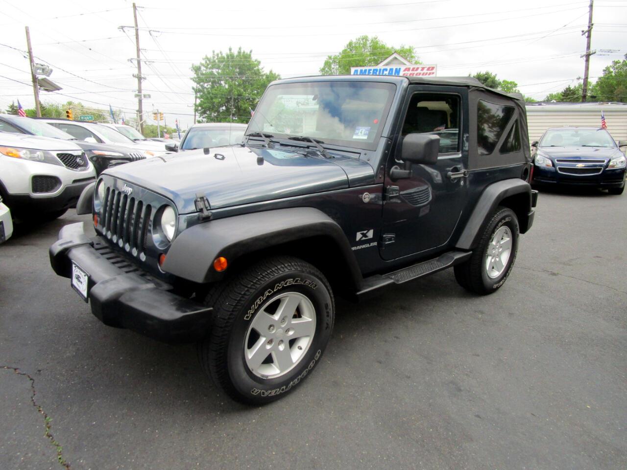 2008 Jeep Wrangler 4WD 2dr X