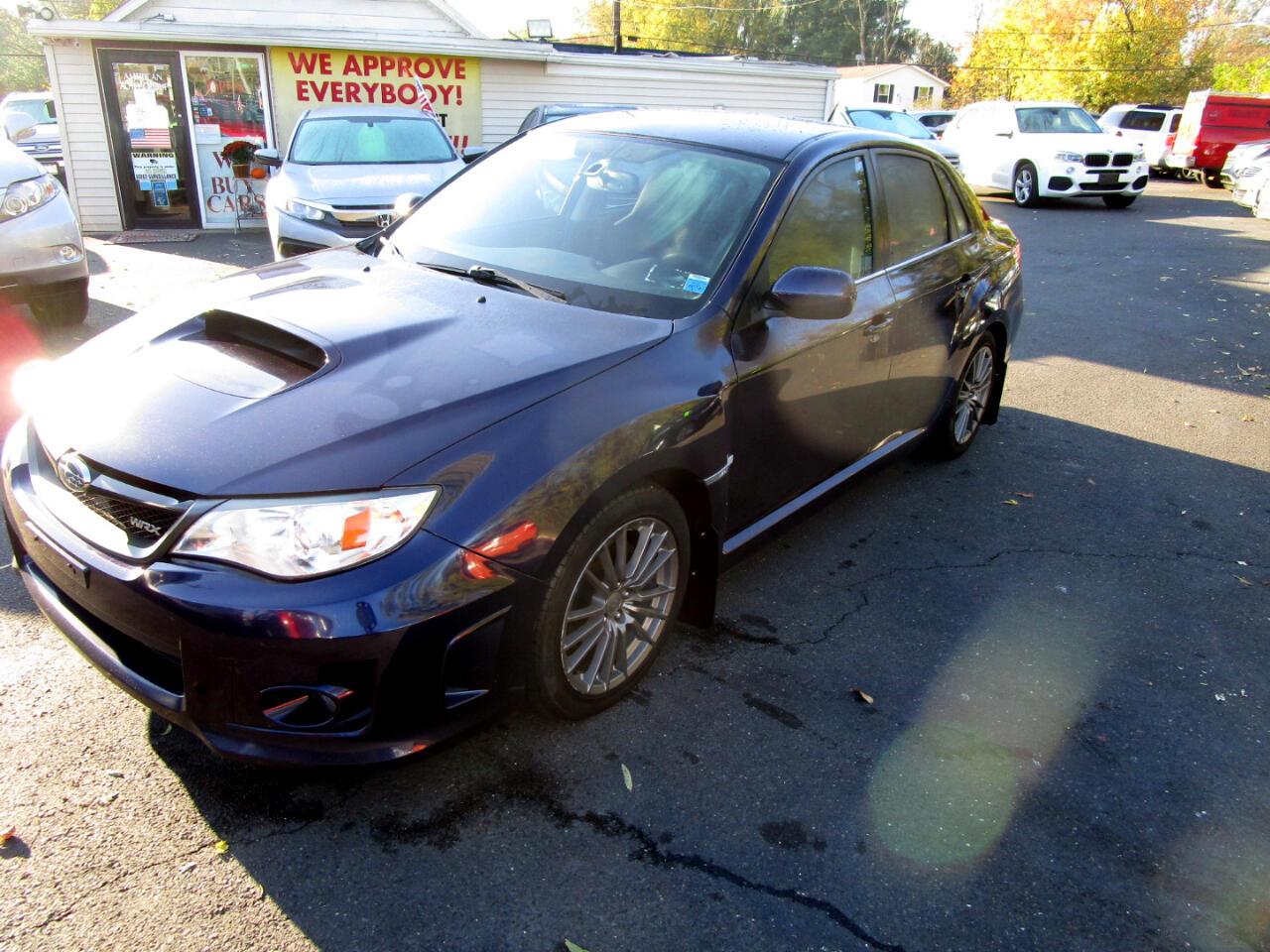 Subaru Impreza Sedan WRX 4dr Man WRX 2013