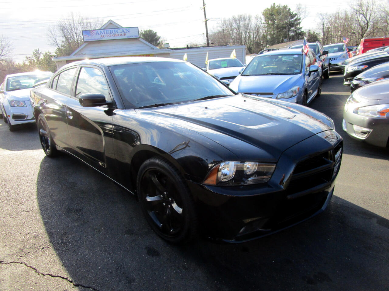 Dodge Charger 4dr Sdn SXT Plus RWD 2014