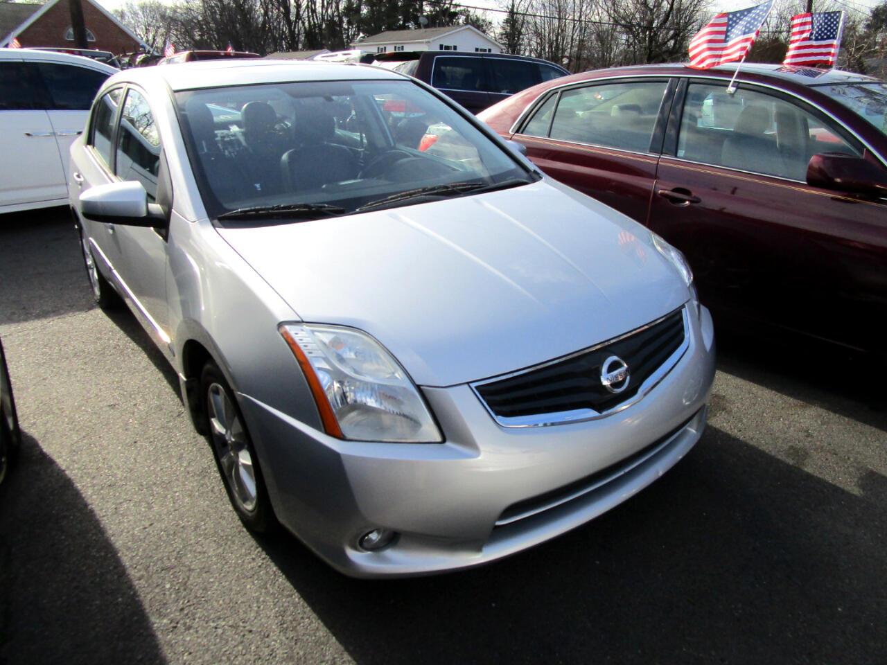 Nissan Sentra 4dr Sdn I4 CVT 2.0 SL 2010