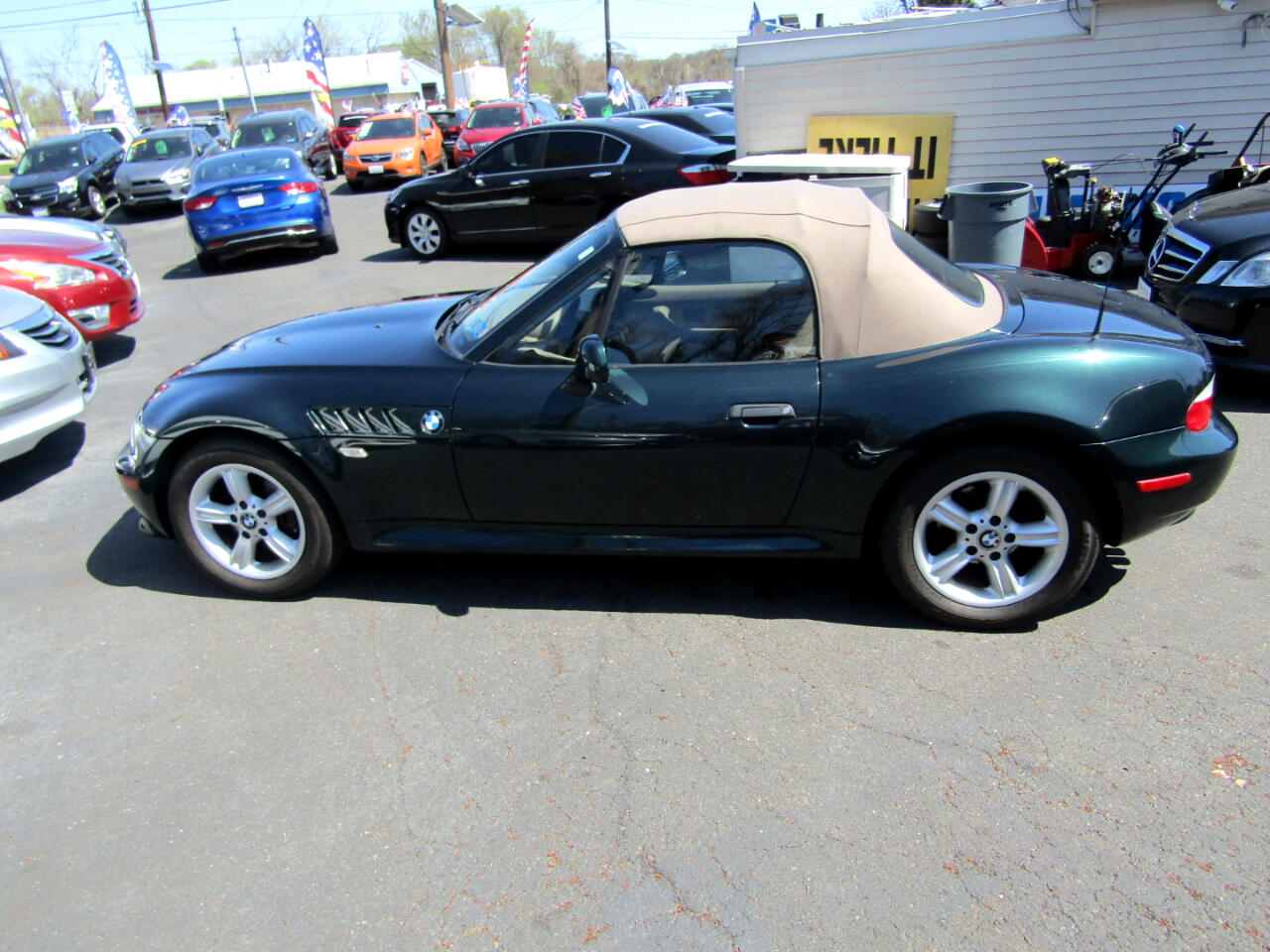 BMW Z3 Z3 2dr Roadster 2.5i 2001