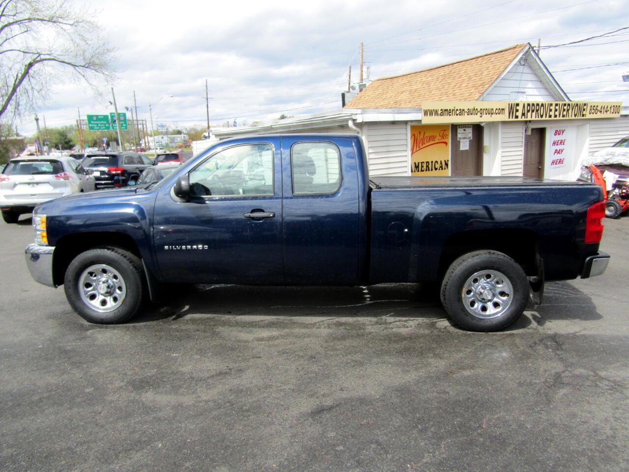 """Chevrolet Silverado 1500 4WD Ext Cab 143.5"""" Work Truck 2012"""