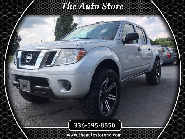 2012 Nissan Frontier SV Crew Cab 4WD LWB