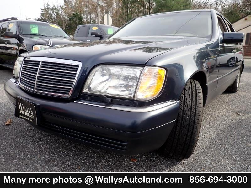 1997 Mercedes-Benz S-Class S500 sedan