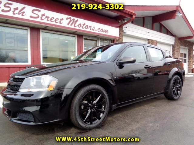 2014 Dodge Avenger BLACK TOP