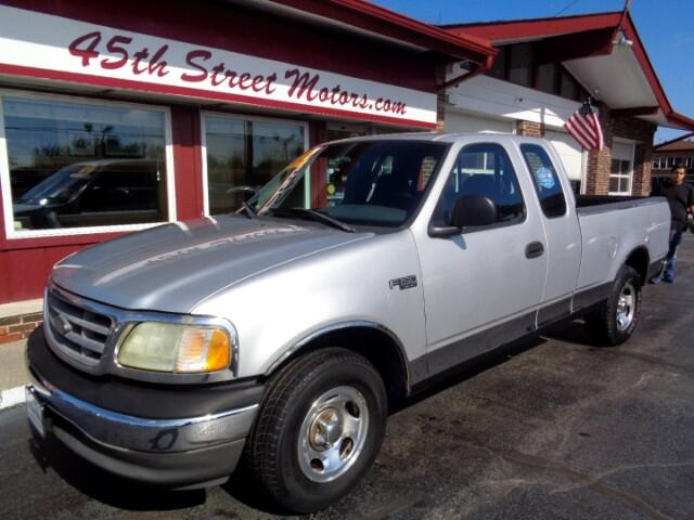"2002 Ford F-150 Supercab 139"" XLT"