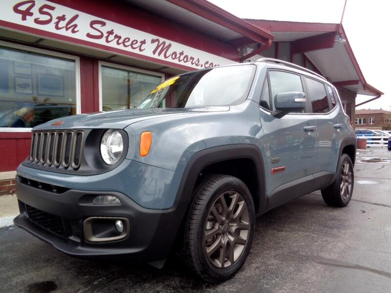 2016 Jeep Renegade 4WD 4dr 75th Anniversary